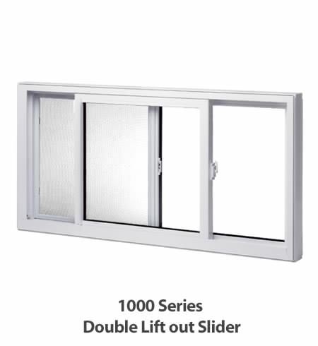 Windows, Double Slider Liftout, North Star Windows