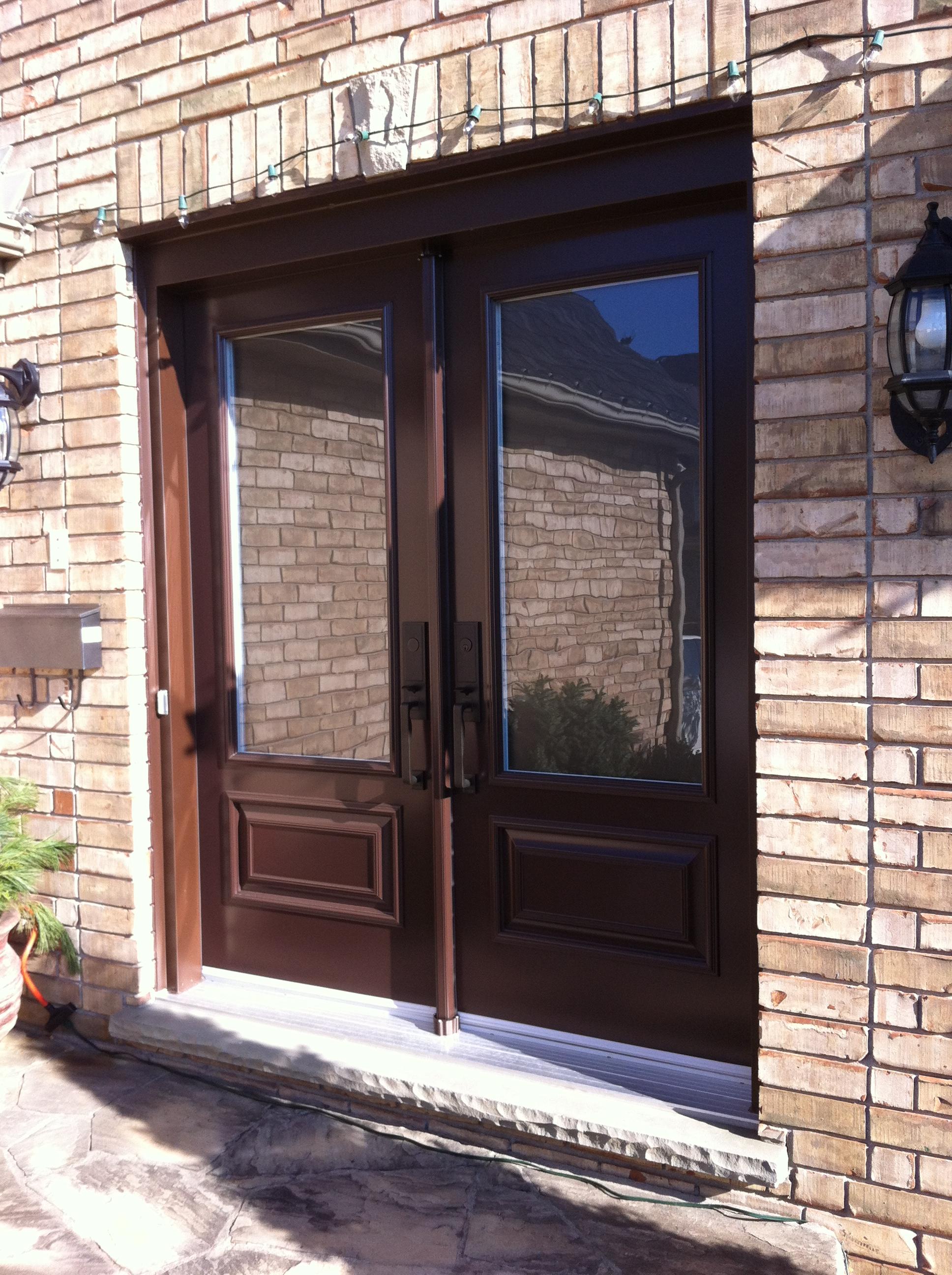 Gentek Steel Entry Door System