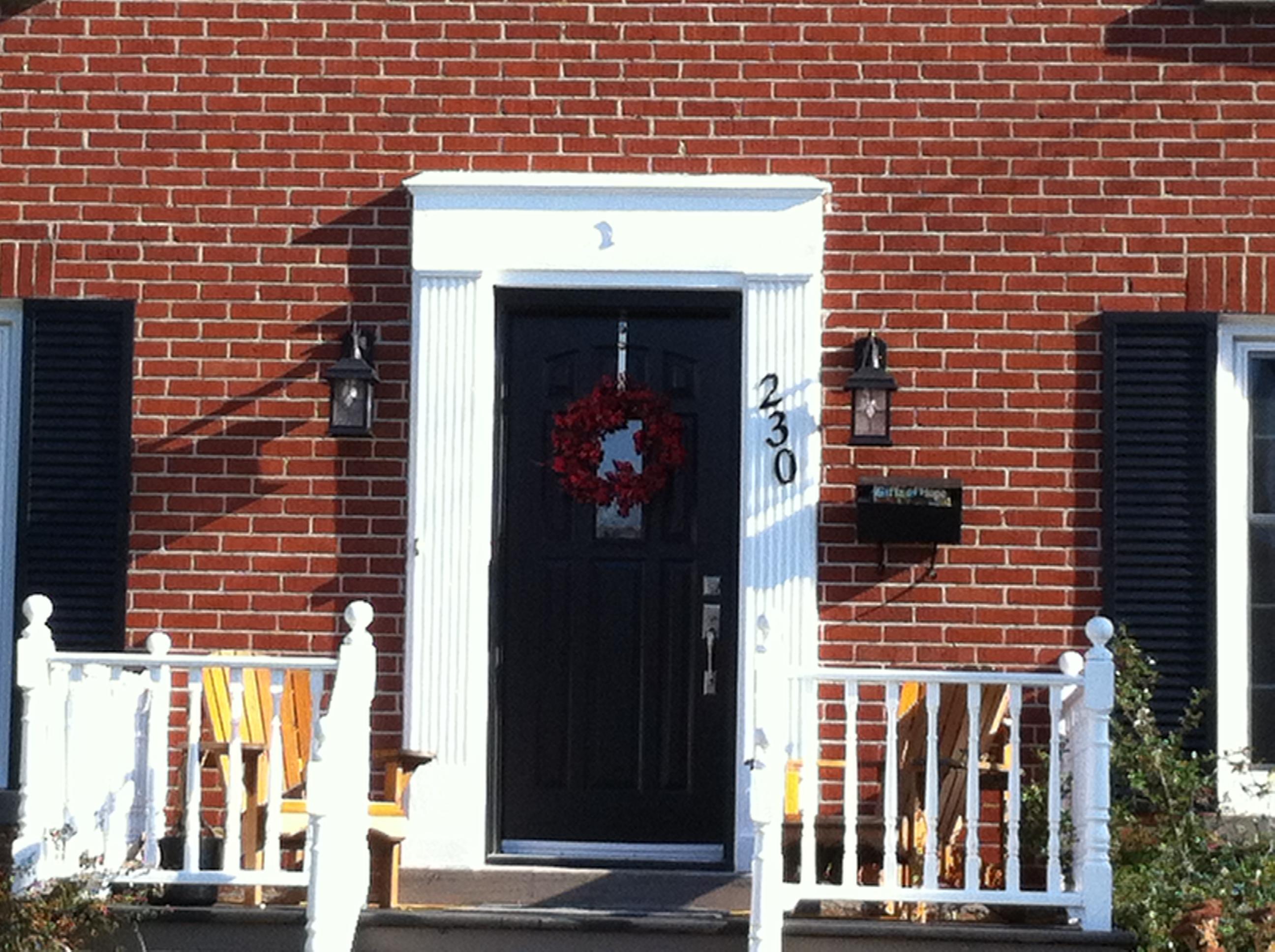 New Gentek Entry Door